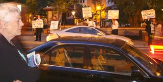 Asheville Pritchard Park Religious Protesters