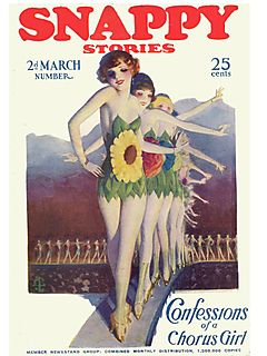 Snappy Stories March, 1924