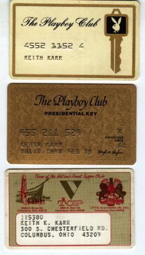 3 Playboy credit pieces