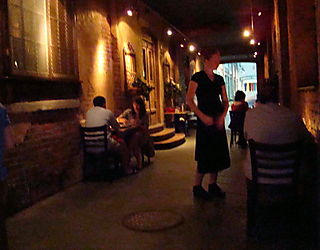 Romantic Asheville Zambra Alley
