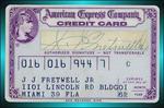 AMEX Credit Card 1962