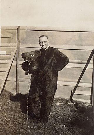Mr Thurstan as The Bear, 1930
