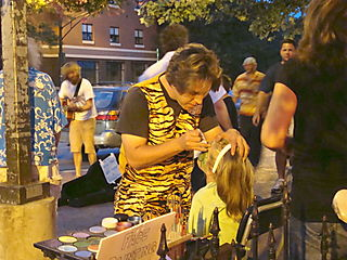 Asheville Face Painter