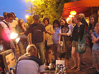 Asheville Art Crowd