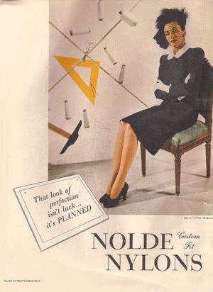1946 nylons ad