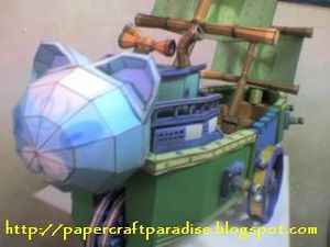 Smashstar ship papercraft 1a