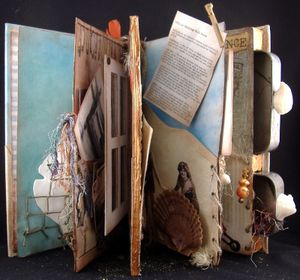Altered Book Artist Rebecca Sawyer Interview