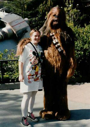 Becca and chewbacca