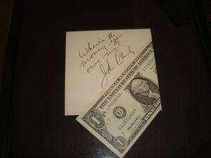 John Candy Autograph