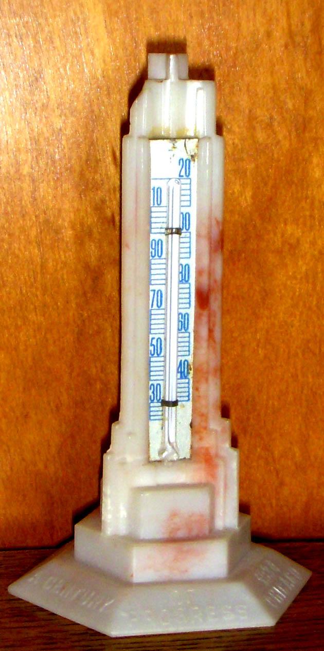Havoline thermometer