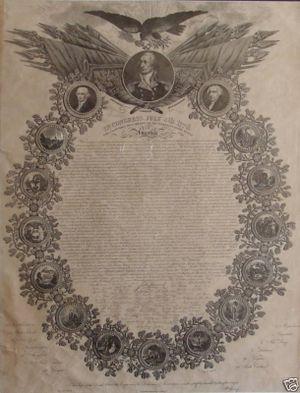William Woodruff Declaration of Independence Broadside