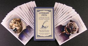 Chet Phillips Literary Pets Trading Cards