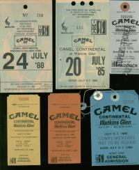 Camel Watkins Glen Racing Tickets