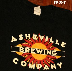 Asheville brewing company t shirt 2010 beer city usa for Asheville t shirt company