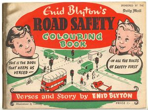 Road Safety Coloring Book