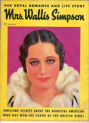 Mrs. Wallis Simpson