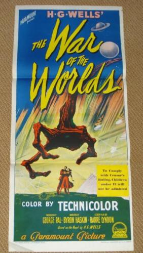 War of Worlds Day Bill Poster