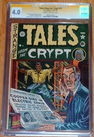 Tales from the Crypt # 21 signed by Al Feldstein