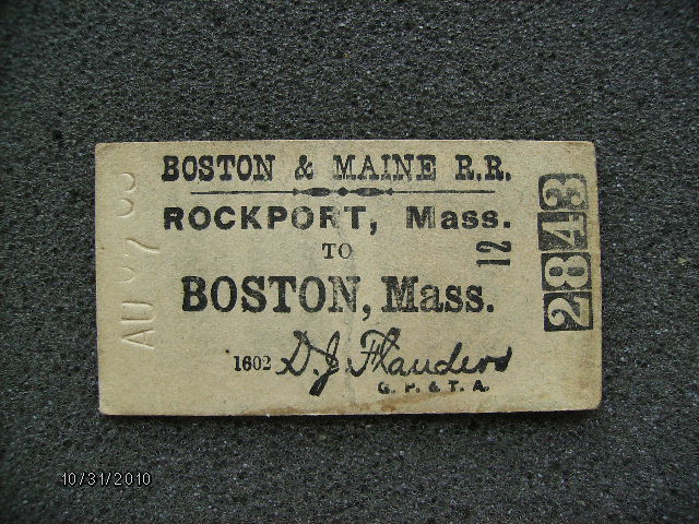 Bostonticket