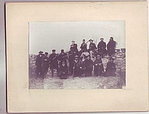 Butch Cassidy Colorado Robbery Posse Cabinet Photo 1904