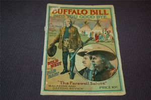 "Buffalo Bill Wild West Program ""The Farewell Salute"""