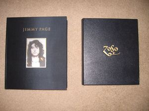 Jimmy Page Signed Rare Limited Edition Book