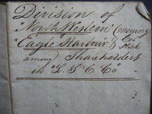 Michigan Copper Mining Company Stock 1847 Manifest