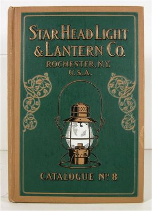 Star Railroad Lantern & Headlight Catalog 1915