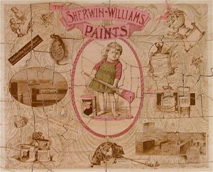 Sherwin Williams Paint 19th Century Jigsaw Puzzle