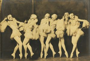 Alfred Cheney Johnston Signed Ziegfeld Follies Photograph