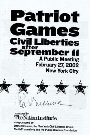 Donahue autograph