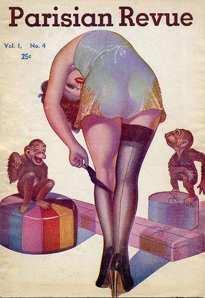 Parisian Revue Pulp Flapper Magazine