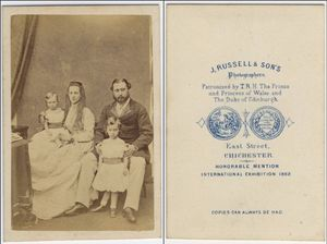 Victorian England Carte de Visite Photograph Album