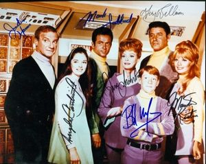 Lost in Space TV Cast Photo Hand Signed