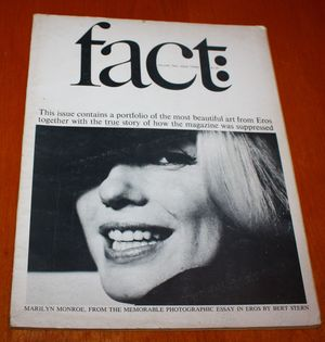 Fact Magazine Marilyn Monroe's Last Photo Shoot