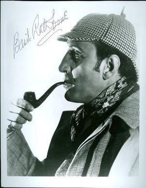 Basil Rathbone Autographed Signed Photo Sherlock Holmes