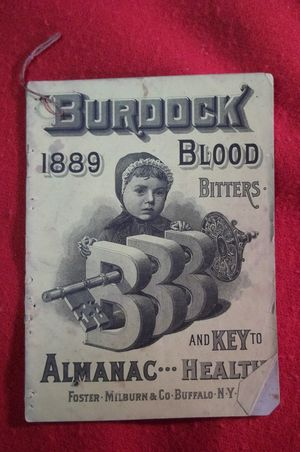 Burdock Blood Bitters Almanac