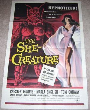 Horror Film She Creature