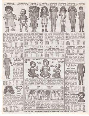 Dolls Catalog Page