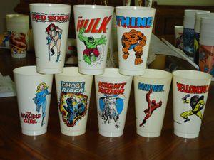 7-11 Slurpee Cups Marvel Comics Characters