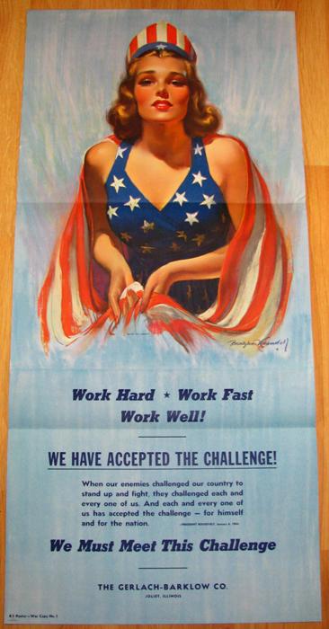 bradshaw crandell 1940s spirit of liberty pin