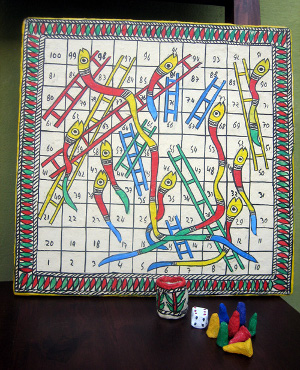 Snakes Ladders Game