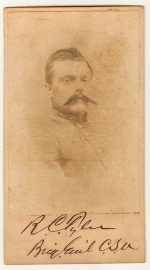 Brig. General Robert Charles Tyler Civil War