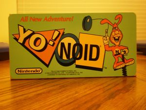 Nintendo Arcade Topper Sign The Noid