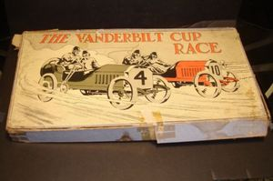 anderbilt Cup Race Auto Racing Board Game