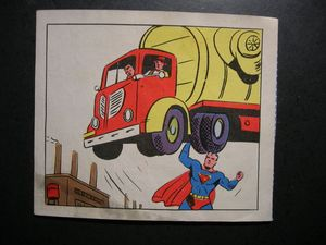 Superman bread card