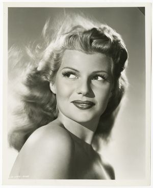 Rita Hayworth Photograph