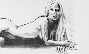 Gaga Bennett charcoal