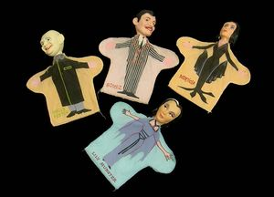 Addams family puppets