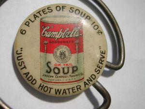 Campbell's Soup Pinback